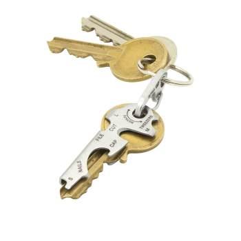 Schlüssel Werkzeug 8 in 1 Tool für Schlüsselbund Geschenke für Freund