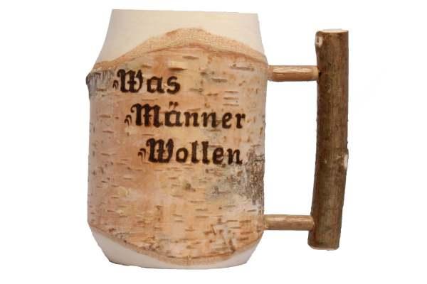 Hölzerner Bierkrug 1 personalisierte geschenke für väter opa