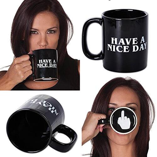 Nette Tasse - witziges Männergeschenk
