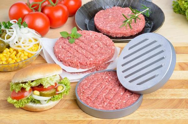 Vegane Burgerpresse Vegetarier