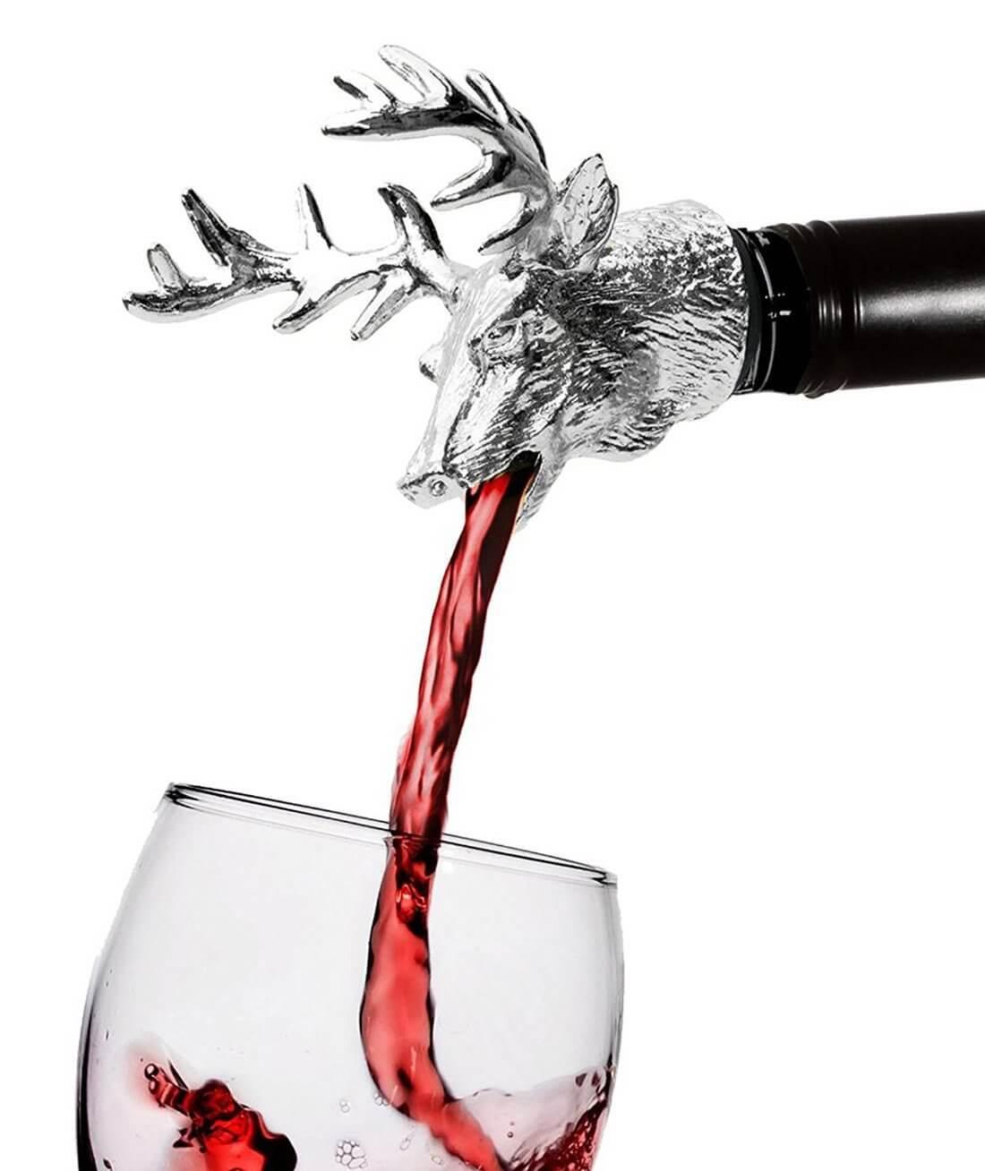 Edle Ausgießhilfe für Weinkenner