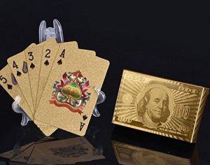 Goldene Spielkarten - Geschenke für Partner