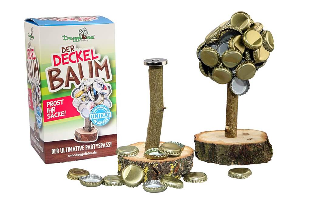 Deckelbaum V 2.0 Magnetbaum Kronkorkenbaum Trinkspiel Kronkorkenhalter Männergeschenk