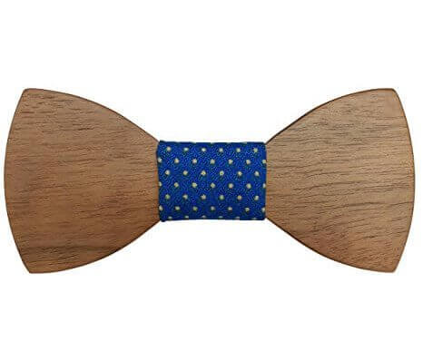Fliege aus Holz trendy Männergeschenk