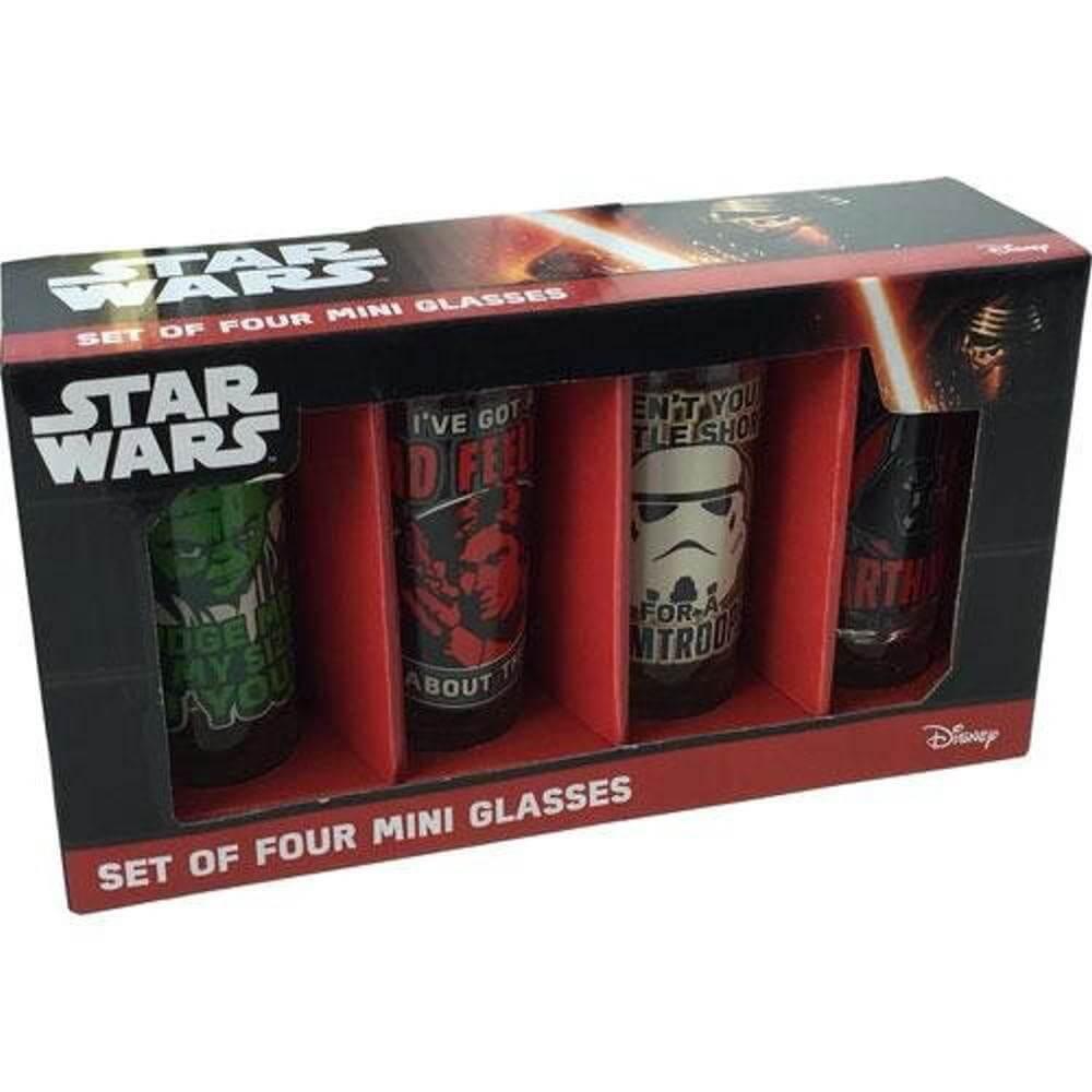 Star Wars Gläser – Schnaps sie Dir!