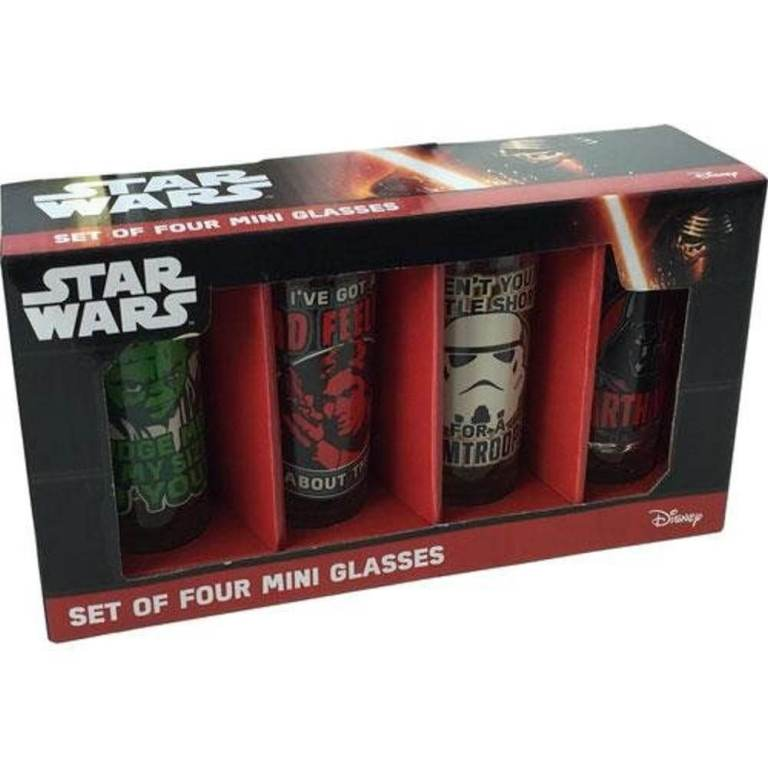 Star Wars Gläser - Geschenke für Freund kaufen