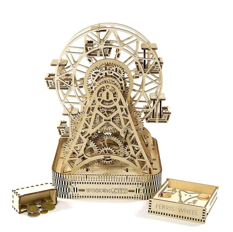 Holzbausatz - besten Holzmodell kaufen - Bausatz aus Holz - Geschenkidee und Männerspielzeug - Riesenrad aus Holz Männerspielzeug kaufen – Männerspielzeuge finden – Spielzeug für Männer finden – bestes Männerspielzeug – Männerspielzeug im Vergleich