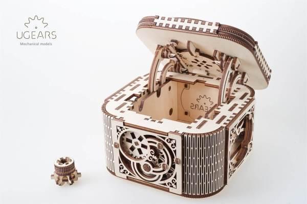 Holzbausatz - besten Holzmodell kaufen - Bausatz aus Holz - Geschenkidee und Männerspielzeug - Schatulle aus Holz 2