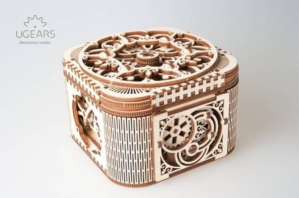 Holzbausatz - besten Holzmodell kaufen - Bausatz aus Holz - Geschenkidee und Männerspielzeug - Schatulle aus Holz