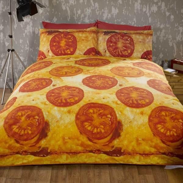 Food Design Familienpizza Bettwäsche