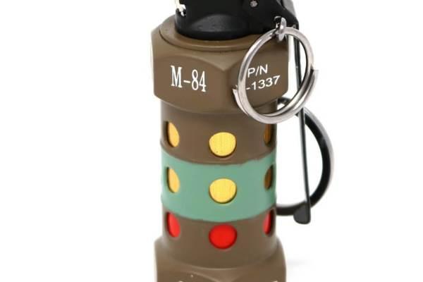 Feuerzeug im Granaten Design - Sturmfeuerzeug Granatnendesign - Geschenke für Männer kaufen Flashbang Nade 1