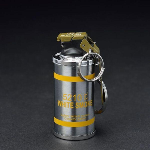 Feuerzeug im Granaten Design - Sturmfeuerzeug Granatnendesign - Geschenke für Männer kaufen Smoke Nade 2