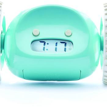 Wecker für Männer - Männerwecker Clocky effektiver Wecker Aqua