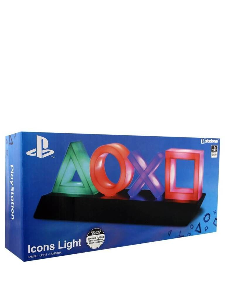 Playstation Icon Lampe LED Playstation Lampe Playsation ICONs USB