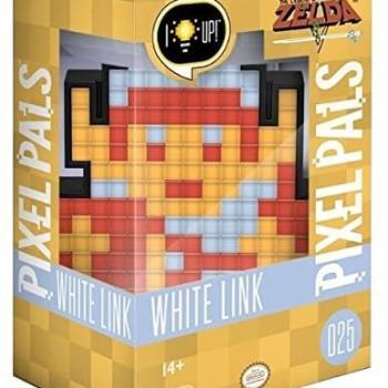 #25 Zelda – White Link – 8Bit 025 Die gesamte Pixel Pals Collection
