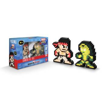 #42 Marvel vs. Capcom – Gamora vs. Ryu 042 Die gesamte Pixel Pals Collection