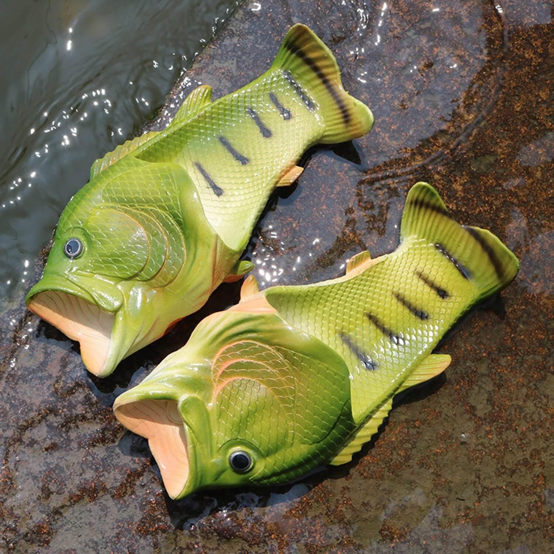 Fisch Badelatschen Sommergeschenk Geschnkidee für Angler