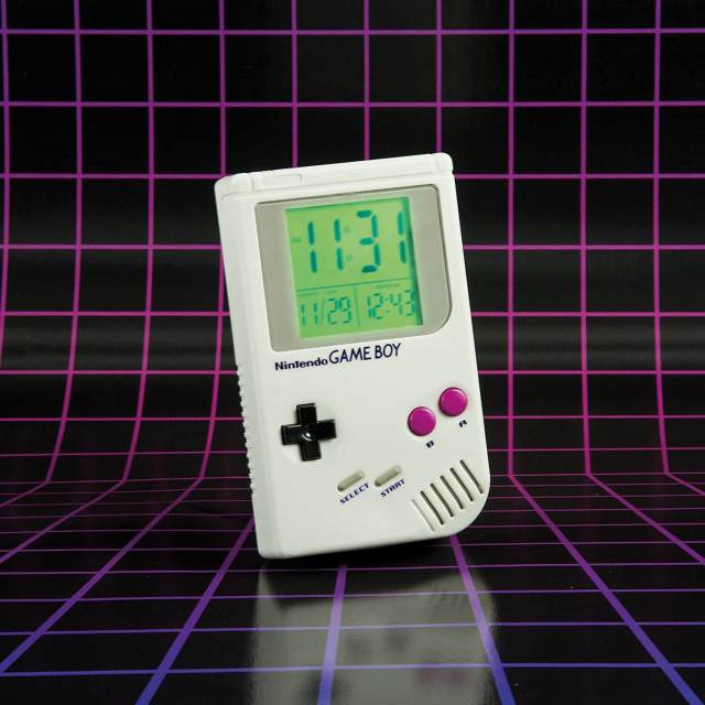 Nintendo Game Boy Wecker Nostalgie Liebhaber lizensierten Männerschlafzimmer Männergeschenk-Idee 1