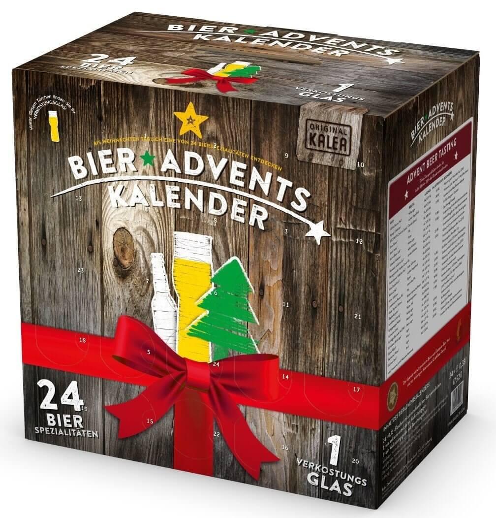 Bier Adventskalender - Kalender für Männer - Bierkalender für Männer - Weihachtskalender für den Freund