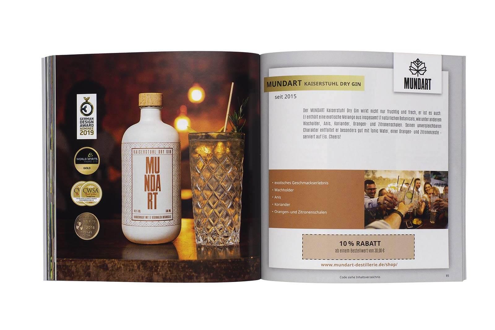 Gin Gutscheinbuch exklusives Geschenk für Gin-Profis 3