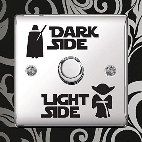Star Wars Lichtschalter 3 Varianten Männergeschenk für den Star Wars Fan 7