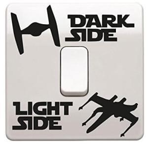 Star Wars Lichtschalter 3 Varianten Männergeschenk für den Star Wars Fan