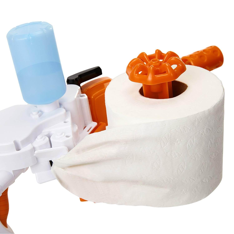 Toilettenpapier Kanone Männerspielzeug Geschenk Geschenkidee www.was-maenner-wollen.de 2