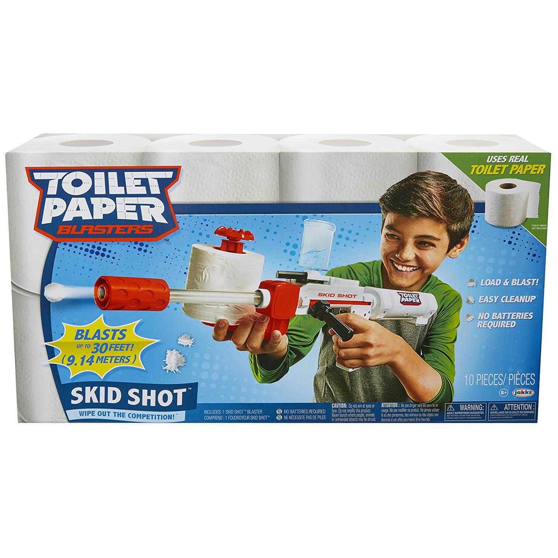 Toilettenpapier Kanone Männerspielzeug Geschenk Geschenkidee www.was-maenner-wollen.de 3