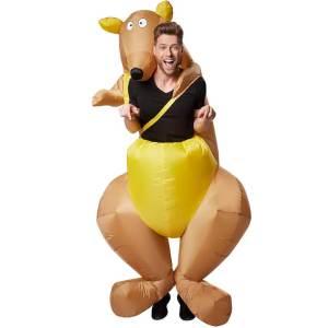 1 Carry Me Kostüme Kangaru aufblasbar, alle Carry Me und Huckepack Kostüme im Netz