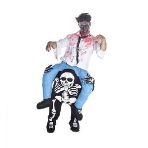 161 Carry Me Kostüm Skelette Huckepack Kostüm Skelett Do It Yourself Verkleidung Fabelwesen Piggyback Ride On auf den Schultern Faschings Geschenk Karneval Kostüm Halloween JGA DIY