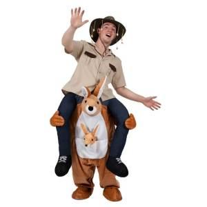 2 Carry Me Kanguru Huckepack auf dem Rücken Kaneval Geschenk