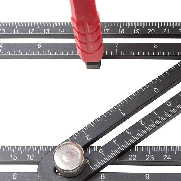 20 ausgefallene und praktische Werkzeuge, die du garantiert noch nicht kanntest Winkelschablone 5