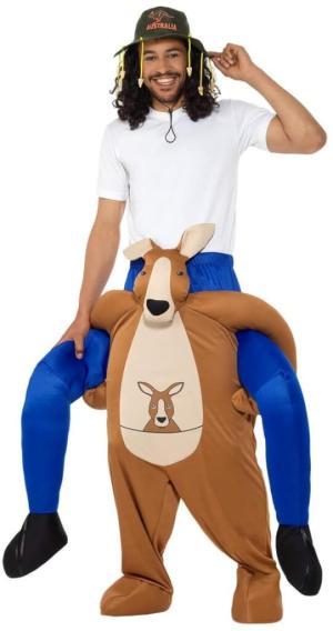 3 Carry Me Kanguru Piggyback Ride On auf dem Rücken Faschings Geschenk