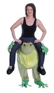 41 Carry Me Kostüm flauschiger Frosch Kostüm Frosch Verkleidung Tierkostüm Piggyback Ride On Schultern Kostüm Faschings Geschenk Karneval Kostüm Halloween Fastnacht Ohne Rotkäppchen