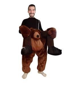 5 Carry Me Bär Huckepack auf dem Rücken Ride On Kostüme Kaneval Geschenke
