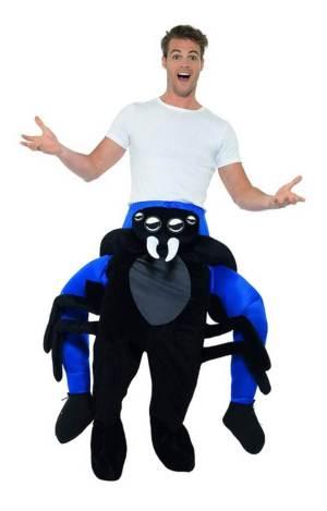 76 Carry Me Kostüm Spinne Huckepack Kostüm Spinne Verkleidung Tierkostüm Piggyback Ride On auf den Schultern Faschings Karneval Kostüm Halloween Fastnacht JGA Junggesellenabschied