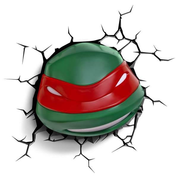 Superhelden 3D Wandleuchten – Optisch ein Highlight - Turtles Raphael
