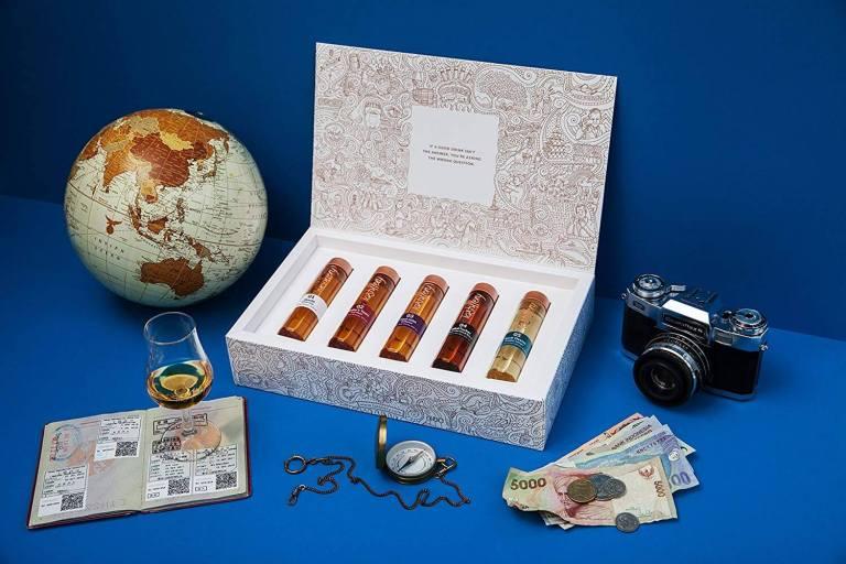 Whiskys zum Probieren im Set exklusiven Whisky-Sets für Kenner Whisky Weltreise 2