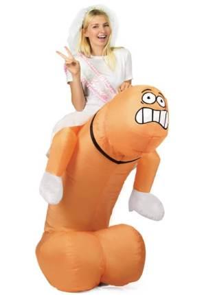 316 Carry Me Kostüm Penis Lümmel reiten LIFT ME UP Verkleidung Piggyback Ride On auf den Schultern Schniedel Faschings Karneval Kostüm Halloween Junggesellenabschied DIY