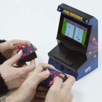 Dual Mini Arcade 300 8-Bit Spiele Retro Männergeschenk 3