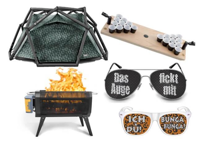 Festival Gadgets, cooles Zubehör und wichtige Ausrüstung