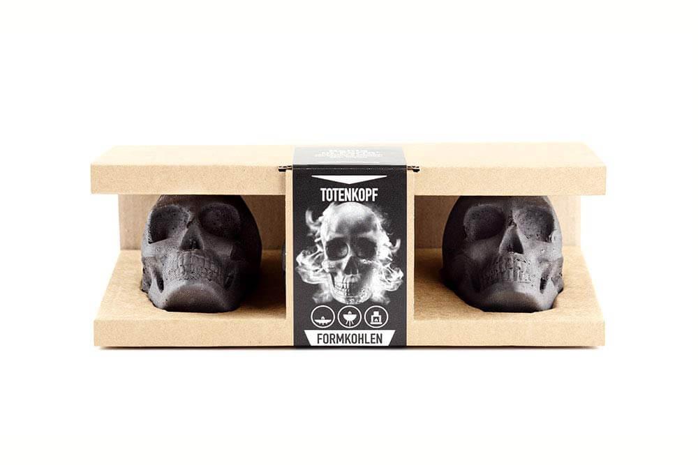 Totenkopf Grillkohle - Das besondere Grill-Erlebnis