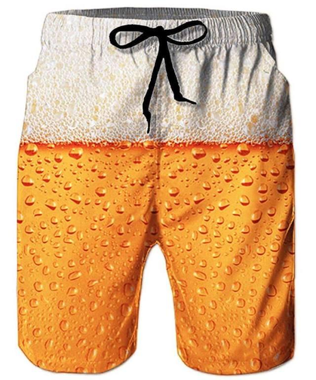 Bier Badehose Perfektes Strand-Outfit Sommergeschenk für den Mann 1