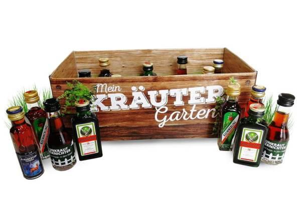 Männer-Kräutergarten Schnaps in der Box Alkohol männertaugliches Geschenk 2