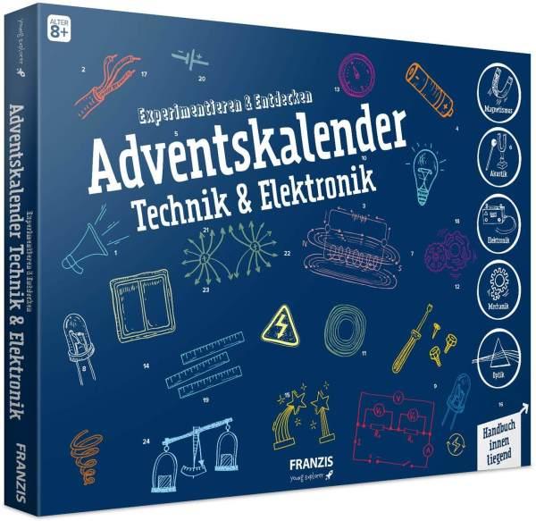 10 Technik und Elektro Adventskalender nicht nur für Kinder - Experiment Adventskalender für Tüftler - Männliche Adventskalender