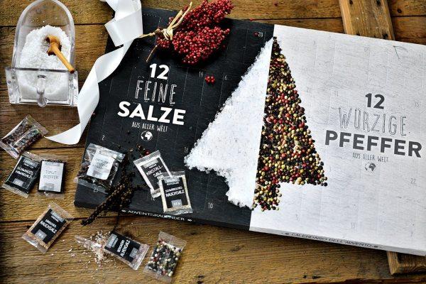5 Salz und Pfeffer Adventskalender für Männer mit Geschmack - Advenskalender für Feinschmecker - Gewürz-Adventskalender für Männer - Adventskalender ohne Schokolade