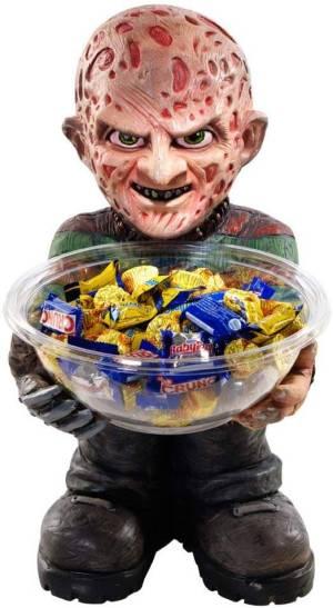 Freddy Krueger Süßigkeitenschale - Chipschale für Männer- Süßigkeitenschalenhalter - Horrofilm Candy Holder Bowl
