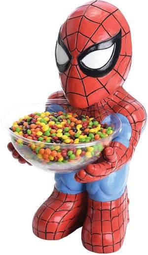 Spiderman Süßigkeitenschale - DC Comicheld - Süßigkeitenschalenhalter - DC Comic Candy Holder Bowl
