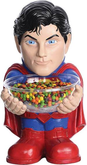 Superman Süßigkeitenschale - DC Comicheld - Süßigkeitenschalenhalter - DC Comic Candy Holder Bowl