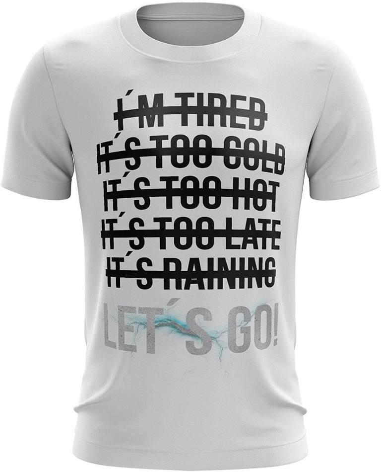 Motivations Shirt - Spruchshirt zur Motivation - Gute Vorsätze Abnehmen und Sport